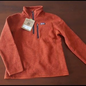 Patagonia Boys quarter zip pullover size 7/8